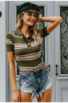 Retro Bohemian Slim Multicolor Sweater