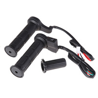 Free Shipping Motorcycle 25mm Electric Hand Heated Molded Grips ATV Warmers Handlebar ME3L