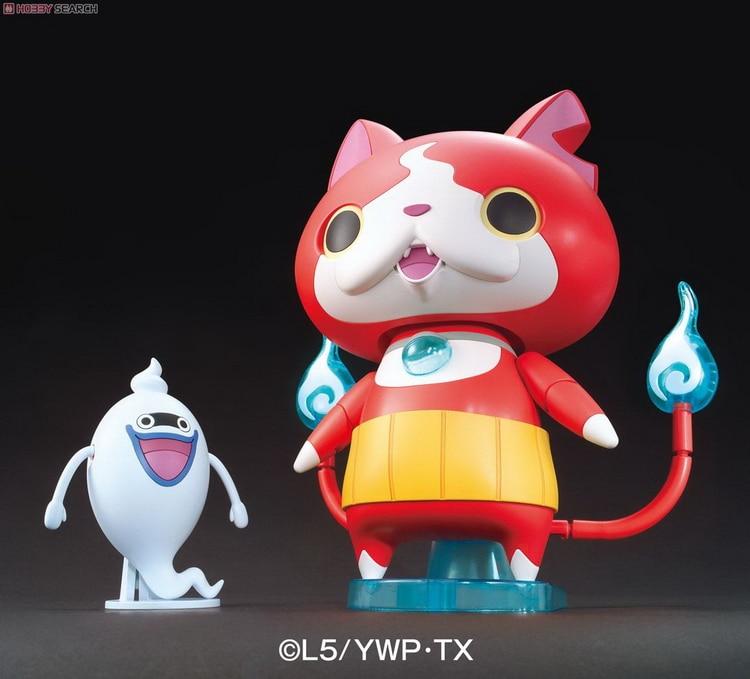 купить Yokai Youkai Watch Figure Yo-Kai Watch Original BIGLY JIBANYAN D12  Assembly Figure Cartoon Action Figure Accessory Toys