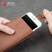 QIALINO for Apple i7 i8 Purse Bag Genuine Leather Wallet Pouch Phone Case For iPhone 8 For iPhone8 Plus Smartphone Cover Shell