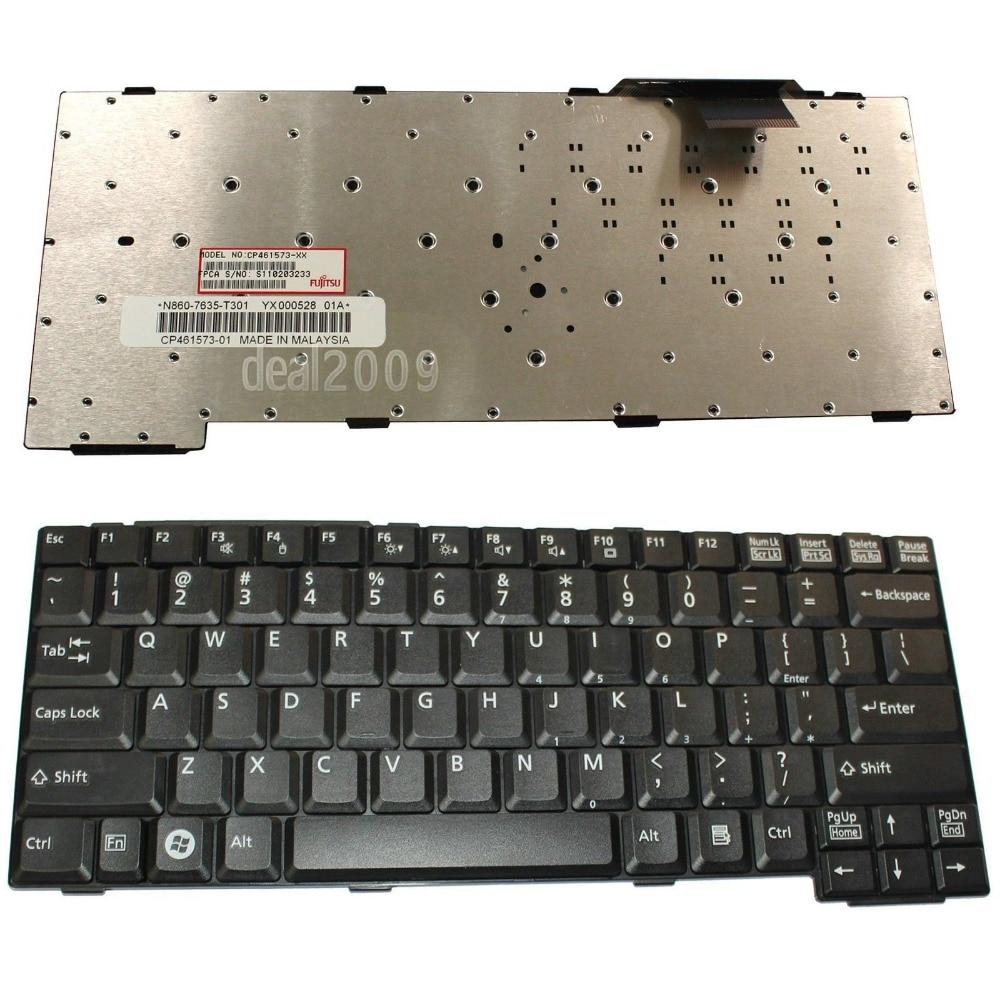 New Laptop keyboard for  Fujitsu Lifebook S6240 S2210 S7210 S7111 T4020  us layout 10 8v 5800mah original new fpcbp179 battery for fujitsu lifebook s6420 s6421 s6410 s6520 s6510 s7210 s7220 fmvnbp160 fpcbp179ap