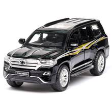 1:32 2019 New Style Toy Car TOYOTA LAND CRUISER Metal Toy Alloy Car Diecasts & Toy Vehicles Car Model Toys For Children(China)