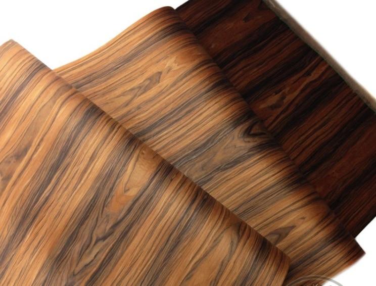 2Pieces/Lot L:2.5Meters Width:60cm Acid Twig Bark Wood Veneer Loudspeaker Shell Veneer(back With Nonwoven Fabric)