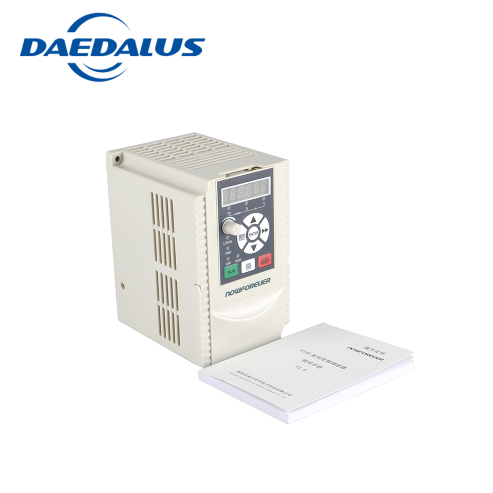 цена на frequency converter 1.5kw 220V vfd 8a 3 phase frequency inverter for CNC Spindle motor speed control
