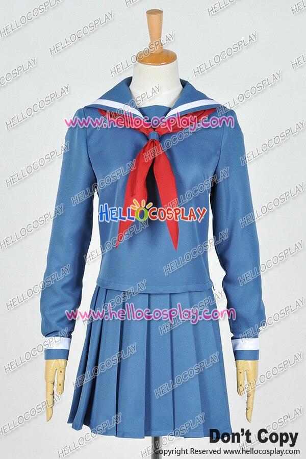 Case Closed Meitantei Conan Cosplay Magic Kaito Akako Koizumi School Uniform Costume H008