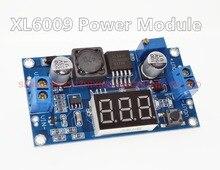 DC-DC 4.5-32V to 5V-52V XL6009 Boost Step-up Module + LED Voltmeter DC-DC Boost module with adjustable voltage meter display