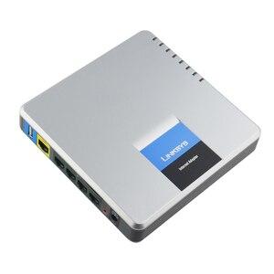 Image 3 - Gratis Verzending! Unlocked LINKSYS SPA400 4FXO VoIP gateway internet adapter Geavanceerde Multi Poort PSTN Oplossing voor Linksys Voice