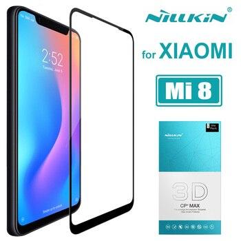 Xiaomi Mi 8 Mi8 Glass Nillkin CP+ Max 3D Full Cover Tempered Glass Screen Protector Anti-Scratch for Xiaomi Mi 8 Mi8 SE Glass