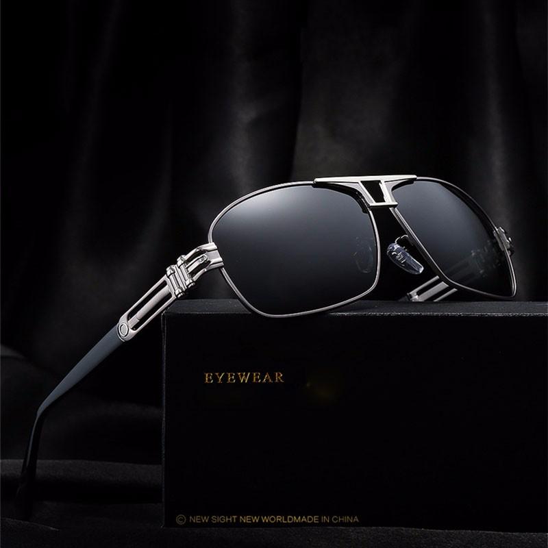 Roupai Polarized Super Cool Military Glasses For Police Driving Mens Square Anti Glare Sunglasses UV400 377 (5)