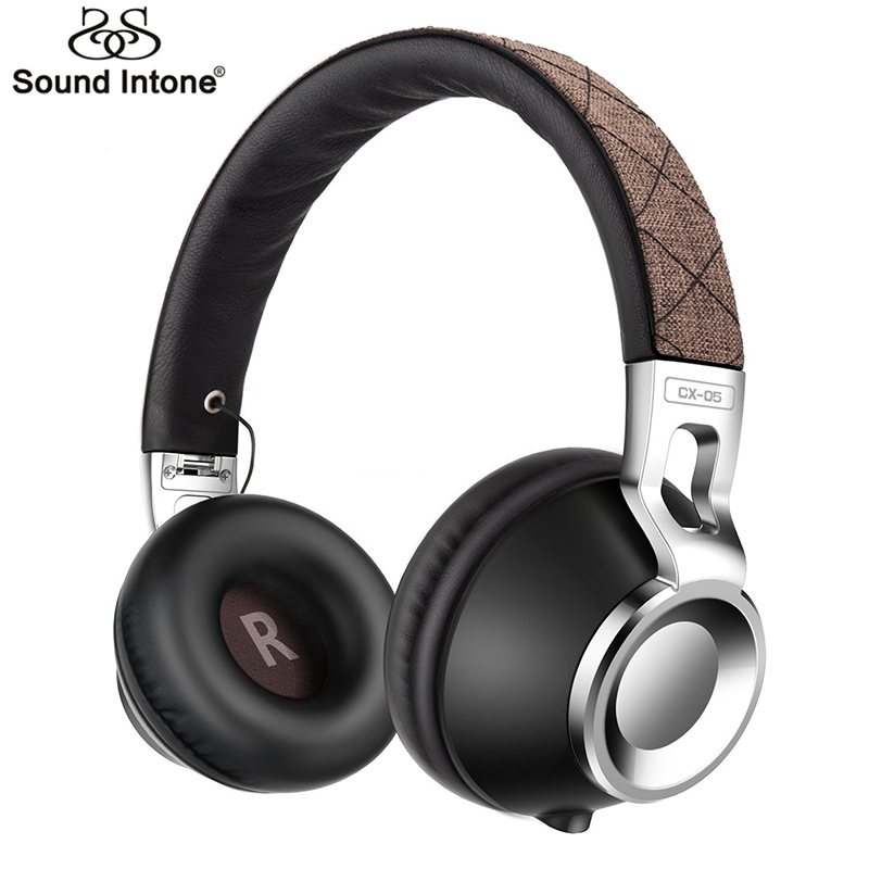 Sound Intone CX-05S Wired Headphones with 3.5mm for Computer Detachable Earbuds