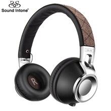 Sound intone cx-05s wired auriculares con 3.5mm jack de auriculares plegable para la computadora desmontable auriculares auriculares para el teléfono móvil