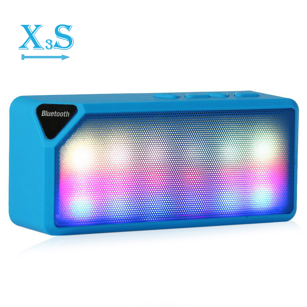 Toproad мини-красочный свет импульса Встроенный микрофон Беспроводной <font><b>Bluetooth</b></font> Динамик Поддержка Handsfree <font><b>TF</b></font> AUX <font><b>FM</b></font> Радио для смартфонов