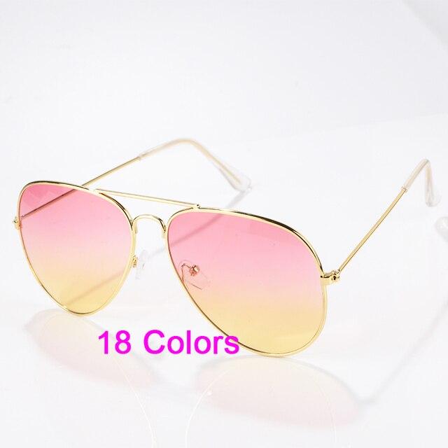 Kacamata Fashion Wanita Merek Desainer Baru Gradien Kacamata Tanpa Bingkai  Pria Frog Cermin Sun Glasses 15 c378178b4b