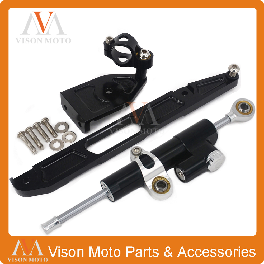 CNC Steering Damper Set Stabilizer With Bracket Mounting Assemblly For XJR1300 02 03 04 05 06 07 08 09 10 11 12 13 14 15 pinxuan lazy mobile phone bracket buckle type universal multifunctional bedside clip apple tv artifact