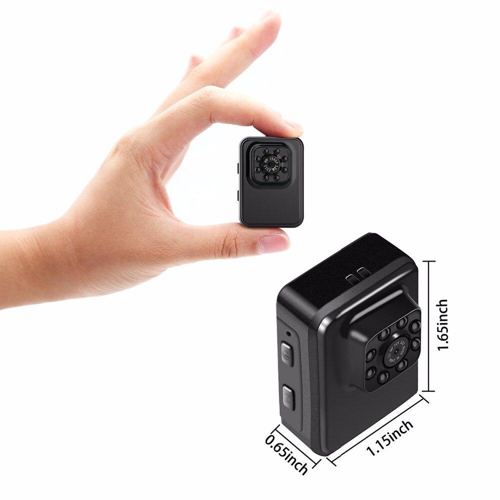 Galleria fotografica Full HD 1080P Mini Camera Night Vision Camcorder Action Sport Cam DV Video Voice Recorder Micro Cameras R3 SQ8 SQ11