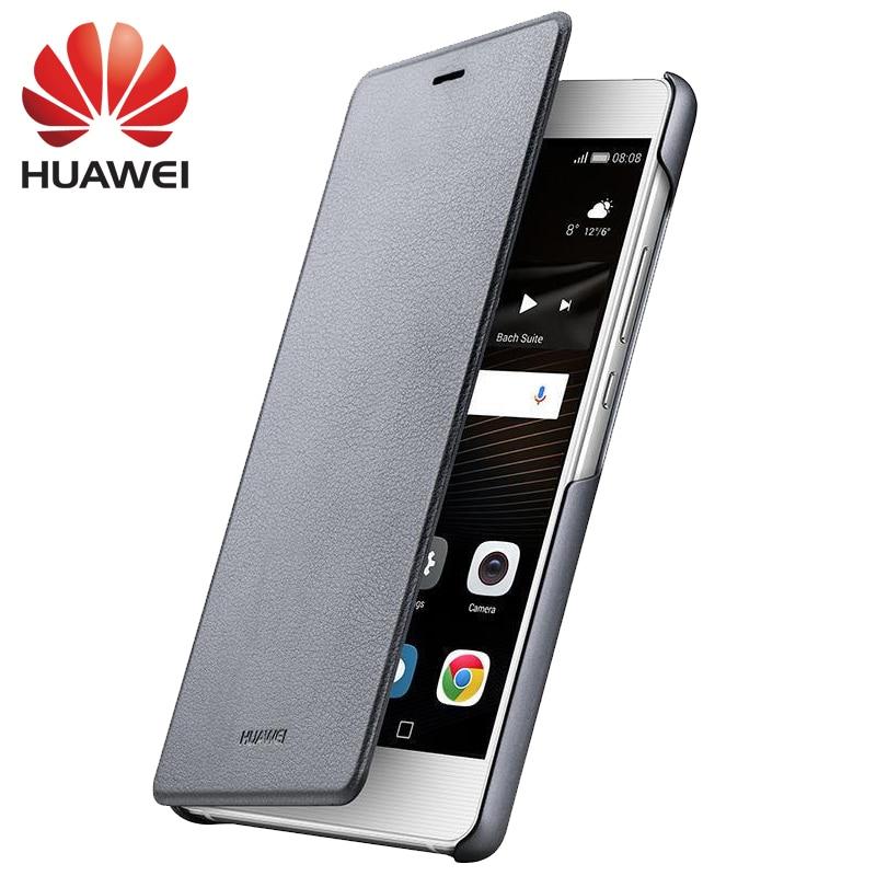"""Huawei G9 lite чехол флип чехол смарт покоя чехол для телефона царапинам 100% оригинал P9 Lite vns-tl00 5.2 """"мобильный комплекты Coque"""