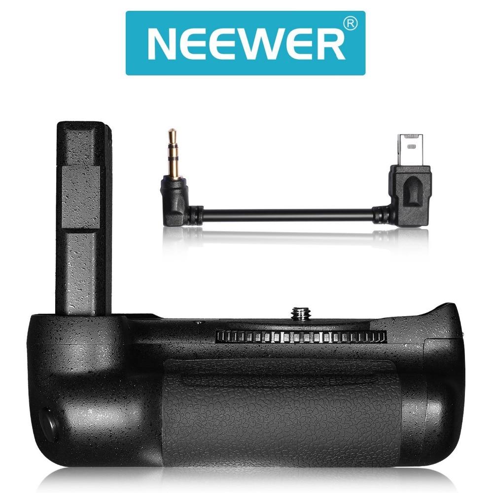 Neewer Professinal Vertical Battery Grip Work with EN-EL14a Recgargeable Battery for Nikon D5500 D5600 DSLR Camera vertical battery grip for nikon d5500 dslr camera bg 2t