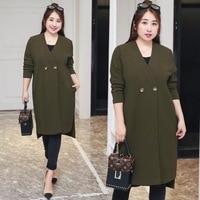 New Long Coats Autumn Xl Xxxxl Plus Size Women