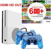 HDMI TV Video Game Console Retro Handheld Game Console Pre installed 600 Classic Games For Nes Game With 2 Controllers r20