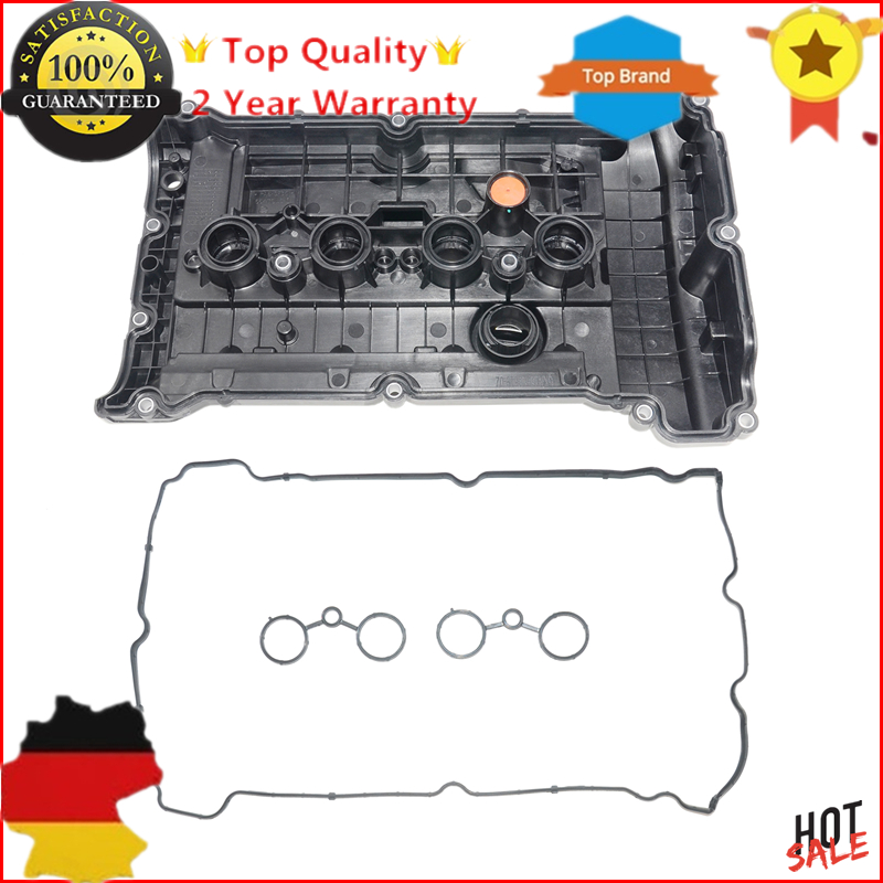 цена на New Valve Cover & Gasket For Citroen C4 Peugeot 308 CC RCZ 1.6 V759886280 0248.Q2