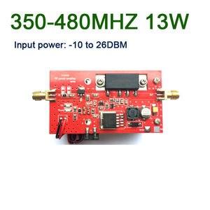 Image 1 - 433MHZ 13W UHF RF Amplificatore di Potenza della Radio DMR 350MHZ 480MHZ Digital radio stazione di segmento U la trasmissione dei dati