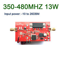 433MHZ 13W UHF RF radyo güç amplifikatörü DMR 350MHZ 480MHZ dijital radyo istasyonu U segmentli veri iletimi