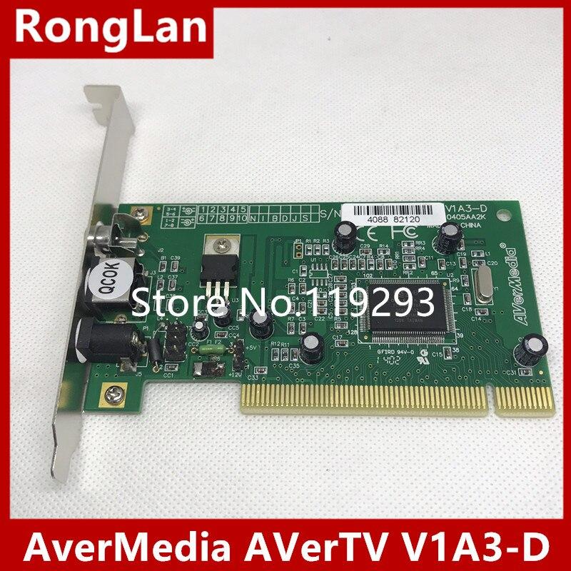 [SAA] AverMedia AVerTV V1A3-D V1A3 медицинские специальные высококачественное изображение карты захвата-5 ШТ./ЛОТ