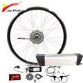 Электродвигатель для велосипеда 36В 250 Вт  комплект для переоборудования электрического велосипеда с аккумулятором  мотор для переднего кол...