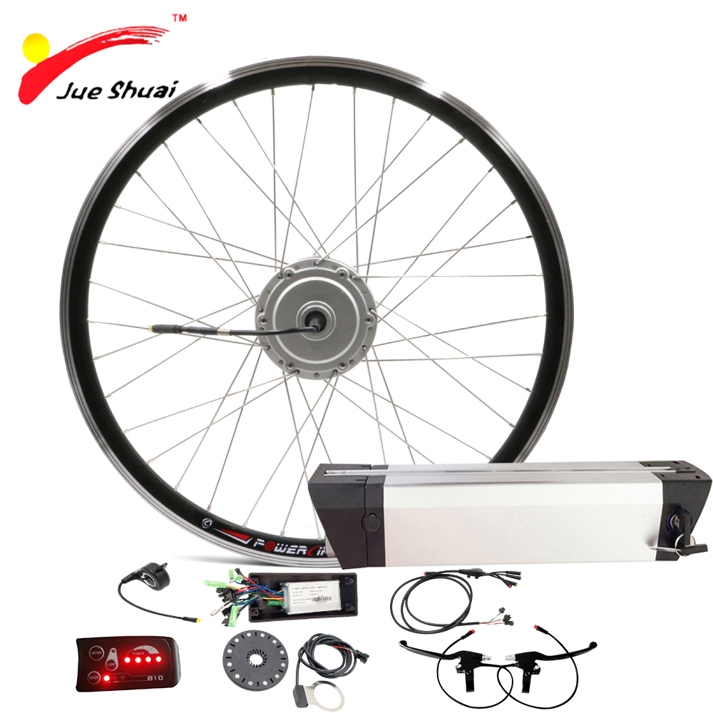Bafang Electric Bicycle Motor 36V 250W Electric Bike Conversion Kit with Battery Front BAFANG Wheel Motor for Ebike velo trousse 24v dc 250w electric scooter motor conversion kit my1016 250w brushed motor set for electric bike emoto skatebord bicycle kit