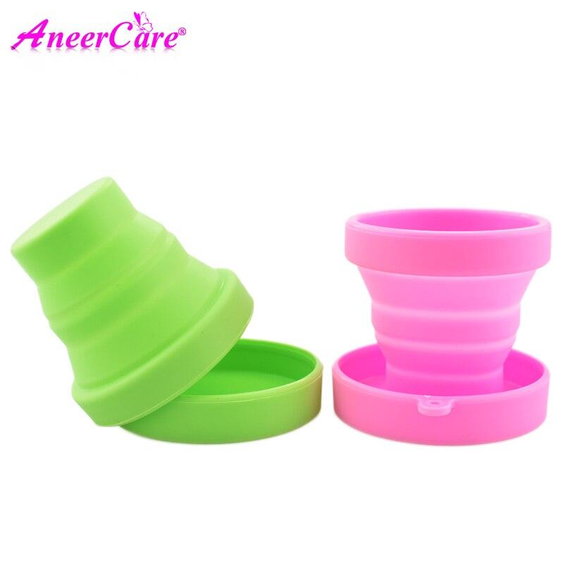 100 Menstrual Cup Sterilizer Collapsible Silicone Cups Flexible To Clean Menstrual Cup Sterilizer Copa Menstrual Sterilizer