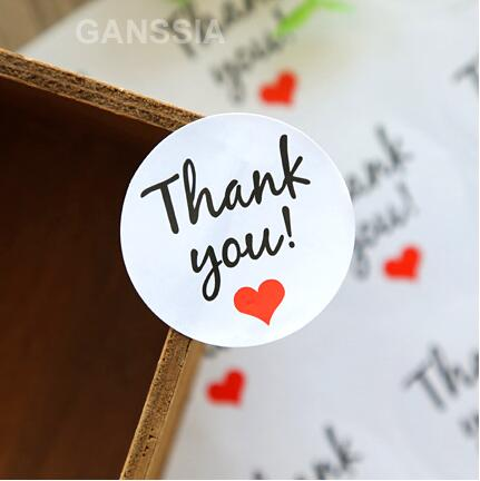 100pcs/lot New Thank You series seal stickers Round design gift sticker Bakery cookies supplies Stationery gift (dd-1371)100pcs/lot New Thank You series seal stickers Round design gift sticker Bakery cookies supplies Stationery gift (dd-1371)