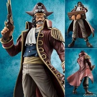One Piece Gold Roger Gol D Roger Pirate King MH POP DX Anime PVC Figure Ace Father King of the Pirates collection toy gift model