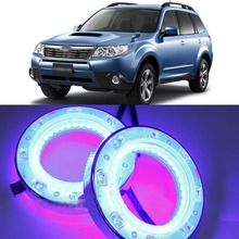 Free Shipping1:1Replacement Daytime running light LED DRL Daytime Running Light with turn singal for 2008-2012 Subaru Forester