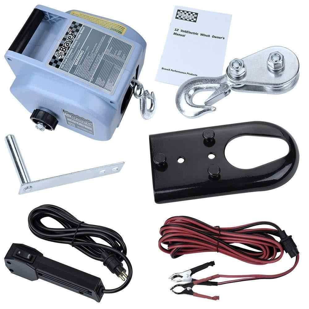 Detail Feedback Questions About Bravex Boat Trailer Winch Power In Wiring For Dummies Manual Or Out Free Wheel 12v Electric Truck