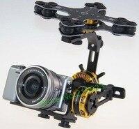 DYS 3 Axis Gimbal Control Mount Kit 4108 Brushless Motor For Sony NEX ILDC Camera Photography