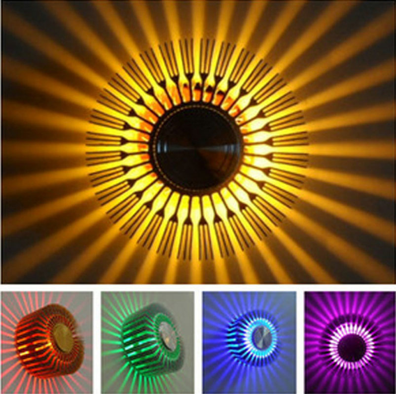 Zyy Simple Sunshine Colorful Small Ceiling Light Ktv Bar