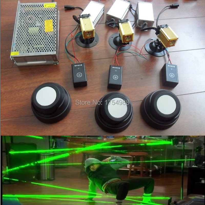 Real life room escape laser array props laser maze for for Escape room equipment