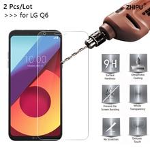 2 шт./партия 2.5D 0,26 мм 9H Премиум Закаленное стекло для LG Q6 Защитная пленка для LG Q6 Alpha