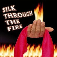 Silk Through the Fire, stage magic illusions,silk magic,fire magic