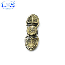 2017 Fidget Spinner EDC Hand Spinner Custom Bearing Fidget Toys Cross Style For Man Women Tiger Crusader