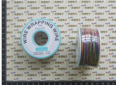 30AWG 8 Colors OK Wire Wrapping Wire Aircraft Fly Wire B-30-1000