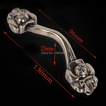 New 96mm Bronze Zinc Alloy Rose Kitchen Cabinet Handle Antique Cabinet Drawer Handle&Knob Eur-Style Furniture Hardware Bar Pulls new high quality european classic crystal zinc alloy antique bronze cabinets handle pull handle knob