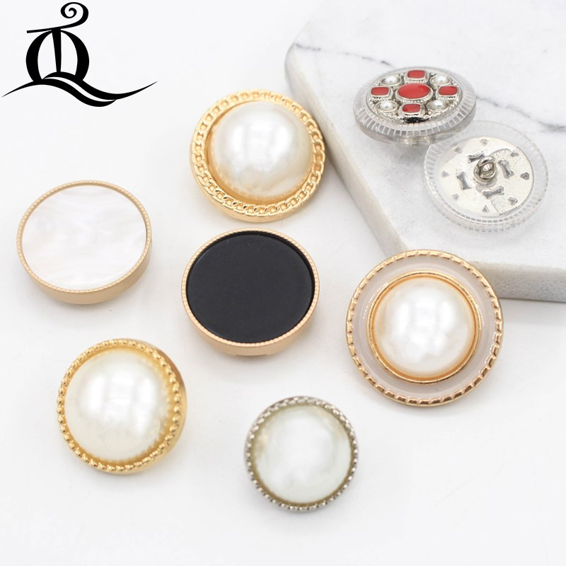 10-12mm Mix British Style High-grade Lion Metal Buttons Wheat Round Coat Jacket Sweater Clothing Garment Accessories Diy Mate Home & Garden