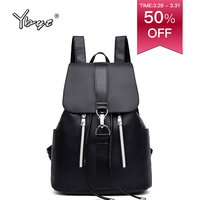Новая мода Элегантный дизайн женский рюкзак Oxford легкий водостойкий Противоугонный рюкзаки для школьников, студентов женские большие сумки...
