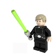 Star Wars Figures Jedi Chewbacca Han solo Darth Vader leia legoing Jango Fett Obi Wan Models & Building Toys Blocks for children