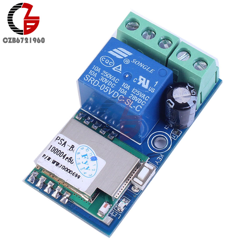 DC 12V Wireless Wifi Relay Switch Module Mobile Phone Control Timer Jog Mode Low Power For Android IOS Smart Home two channels remote control relay p2p wireless wifi module board smart network relay control switch with 2 output 2 input q036