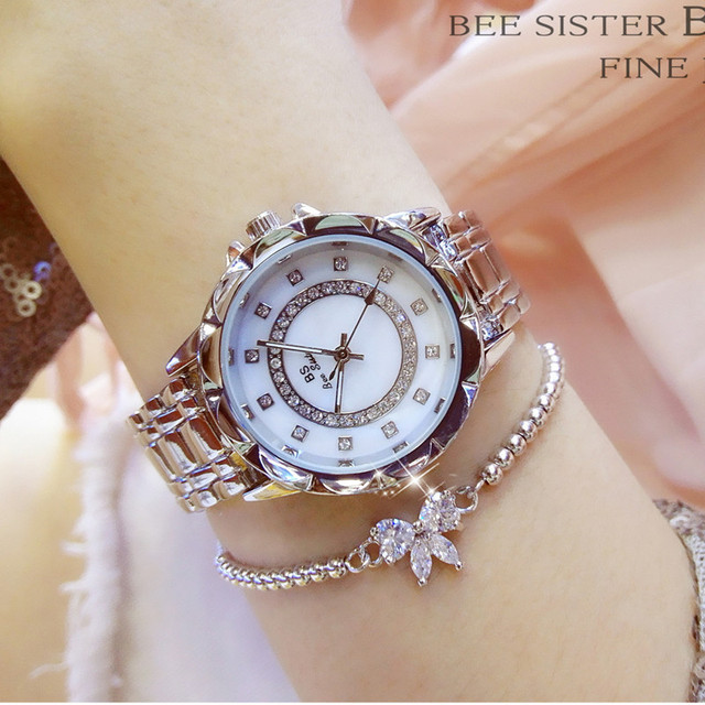 Original Creative Ladies Bracelet Watch 2017 Top Brand Luxury Crystal Wrist Watc