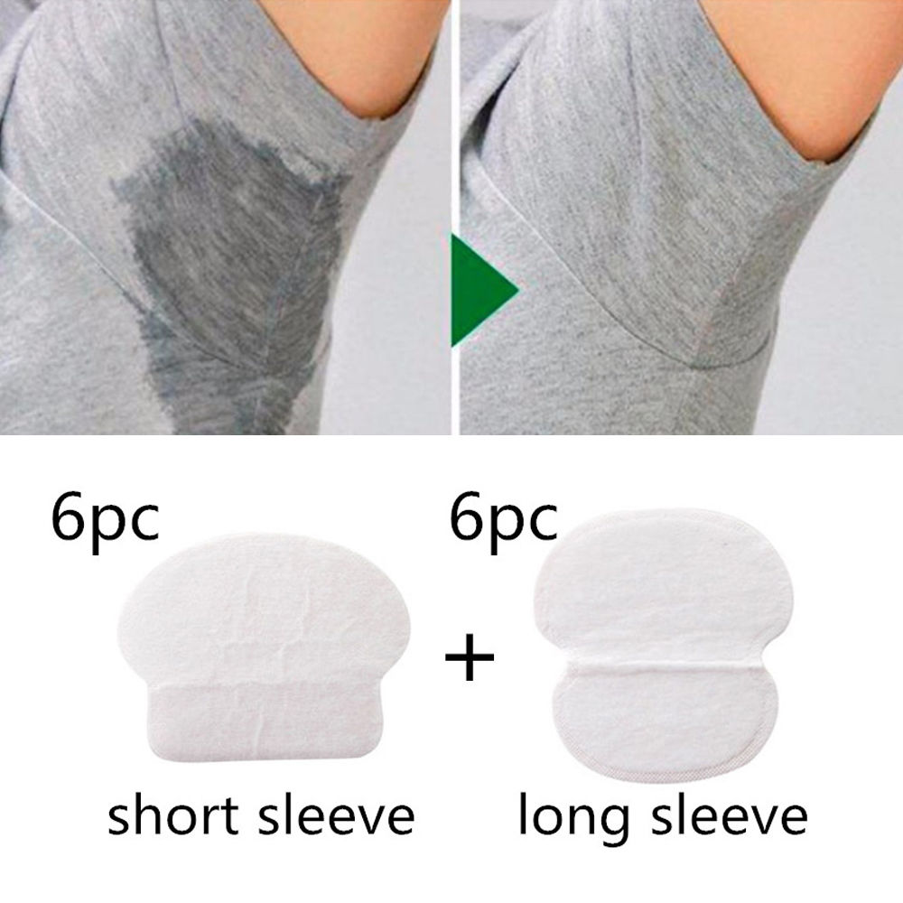 12PC Unisex Women Men Summer Disposable Underarm Armpit
