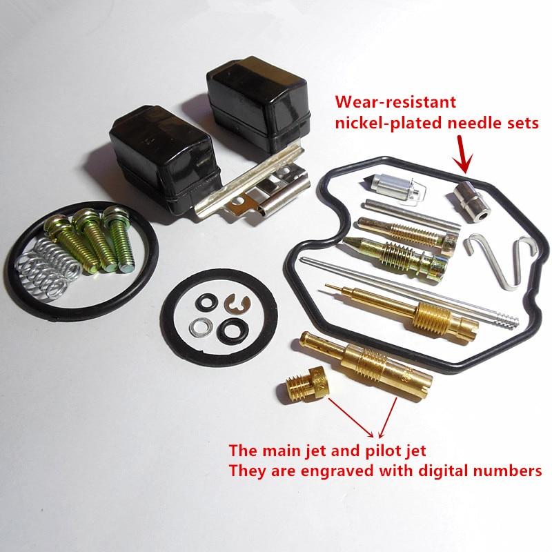 (Spedizione gratuita) Keihin kit riparazione carburatore PZ27 CG150CC ATV a cavaliere tipo sacchetto di riparazione moto (configurazione normale)