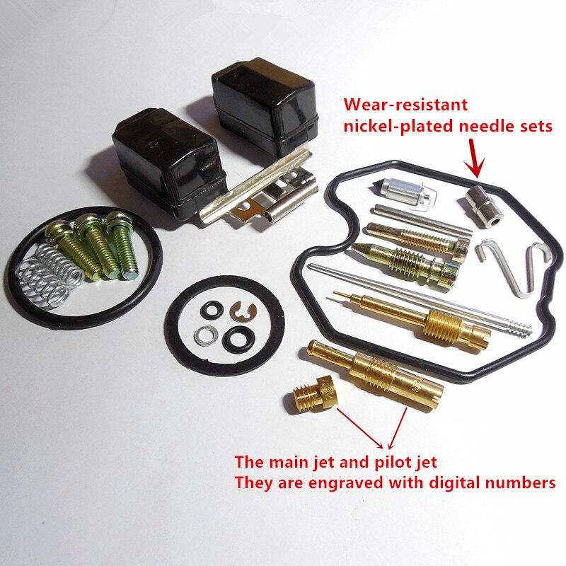 US $4 95 10% OFF|(Free shipping) Keihin carburetor PZ27 repair kits CG150CC  ATV straddle type motorcycle repair bag (normal configuration)-in